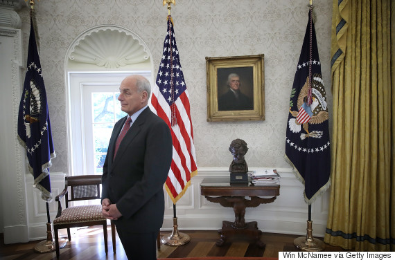 john kelly oval office
