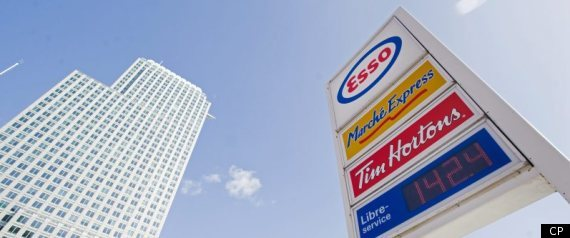 Canada Gas Prices Spike