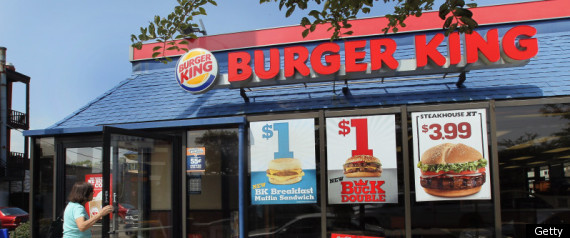 BURGER KING GOING PUBLIC