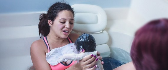 BABY DELIVERY IN WATER