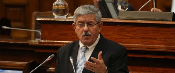 ALGERIAN PRIME MINISTER