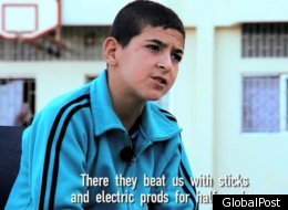 Syria Children Torture