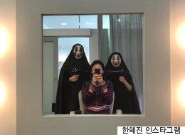 뷰티샵에 간 한혜진이 당황한 이유(사진)