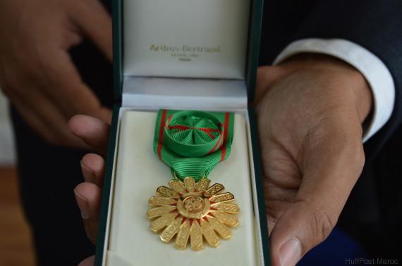 majid el bouazzaoui medaille