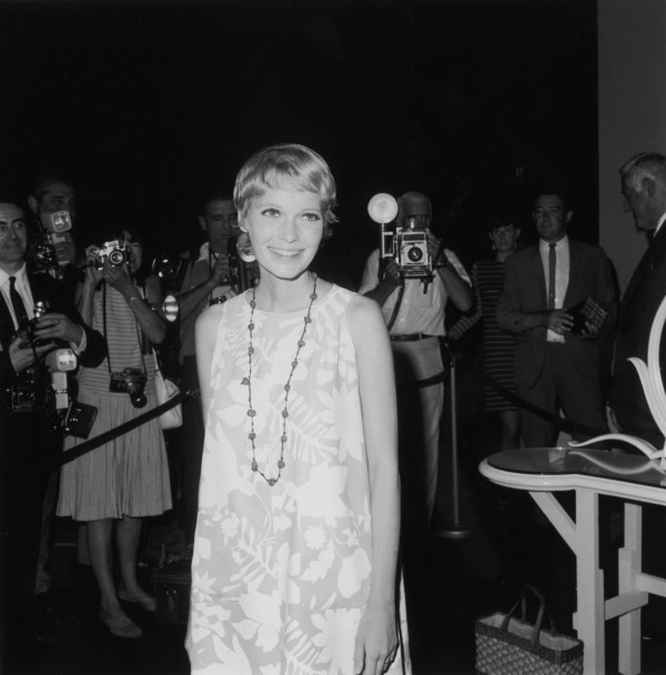 Mia Farrow fashion