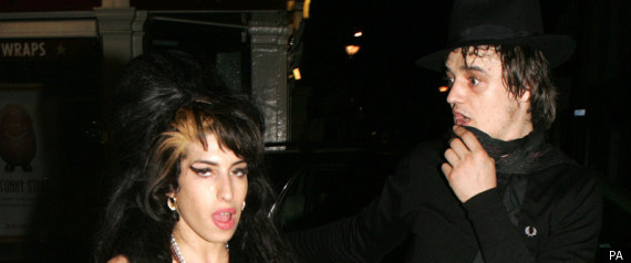 AMY WINEHOUSE PETE DOHERTY