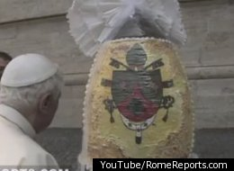 Pope Given Massive Egg