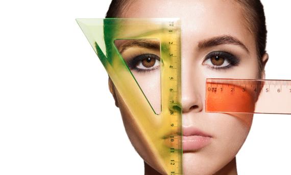 ideal face measurements