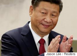 시진핑이 김정은의 축전에 답전을 보냈다