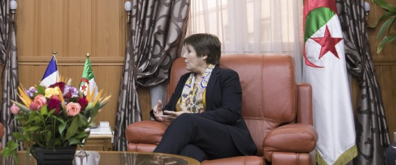 NOURIA BENGHABRIT ALGERIA