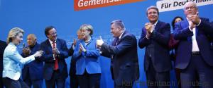 CDU MERKEL HAPPY