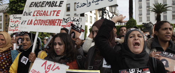WOMEN MOROCCO PROTEST