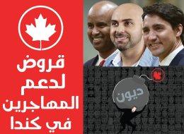 قروض لدعم المهاجرين في كندا.. وهذه هي دوافع الحكومة وشروطها.. شاهد