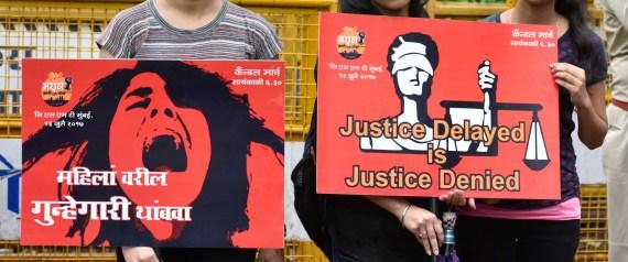 RAPE INDIA PROTEST 2017