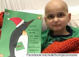 소아암 어린이가 마지막 크리스마스 소원을 빌었다
