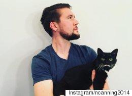 이 남자는 고양이 집사들이 부러웠다(사진)