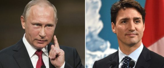 TRUDEAU AND PUTIN