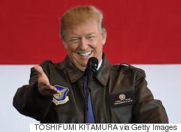 트럼프가 뜬금없이 북한 주민들을 칭찬한 이유