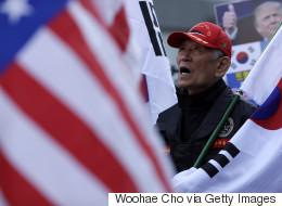 [화보] 트럼프 방한 앞둔 주말, 서울의 풍경