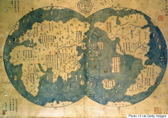 zheng he map