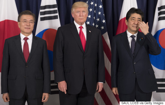 moon jae in trump