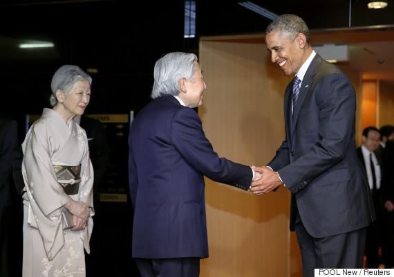 barack obama akihito