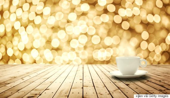 coffee golden background