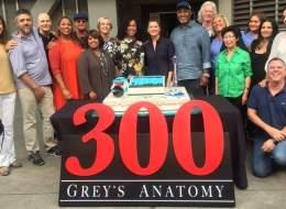 أبطال Grey's Anatomy يحتفلون بالحلقة رقم 300.. عودة