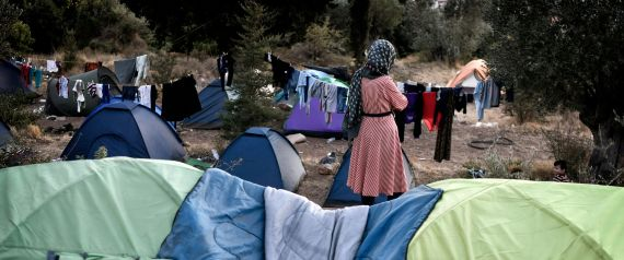 REFUGEE CAMP GREECE