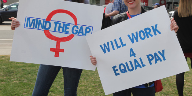 Drive for gender pay equality 'going backwards'