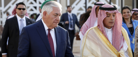 US SECRETARY OF STATE AND SAUDI ARABIA