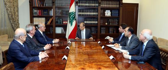 THE LEBANESE PRESIDENT