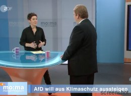 Was ein AfD-Politiker im ZDF über den Klimawandel sagt, macht Dunja Hayali sprachlos