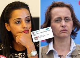 AfD-Politikerin von Storch greift den Vater von SPD-Staatssekretärin Chebli an - die findet die passende Antwort