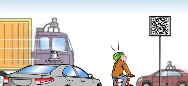 Das Verkehrsschild der Zukunft