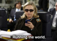 Texts From Hillary: Tumblr Meme Shows Secretary Of State Messaging Obama, Mitt Romney And More