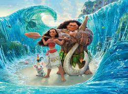هل استوحى مخرج فيلم Moana مشهد انشقاق البحر من قصة سيدنا موسى؟