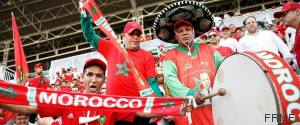 SUPPORTERS MAROC COTE IVOIRE