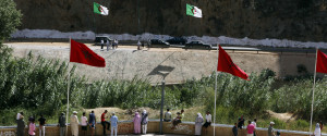 Algerian Border Morocco