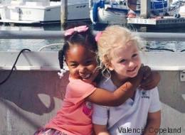 Ein Mädchen sagte ihnen, sie könnten keine Schwestern sein - die Antwort der Kleinen ist genial