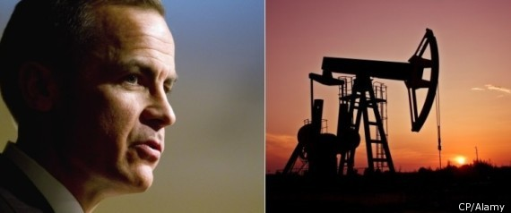 OIL PRICES MARK CARNEY