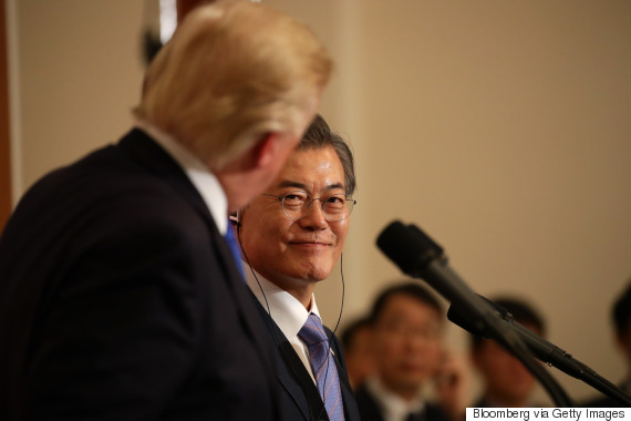 trump korea moon jae in