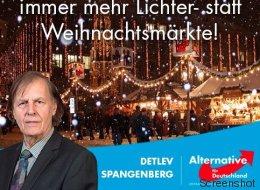 Absurde Empörung über Lichtermärkte: Die AfD fürchtet die Abschaffung der Weihnachtszeit