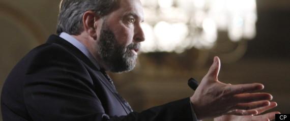 NDP ECONOMY THOMAS MULCAIR