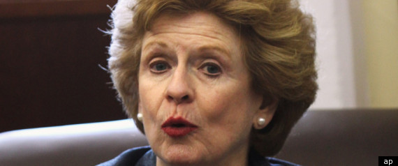 STABENOW PROFITS FROM ATTACK AD