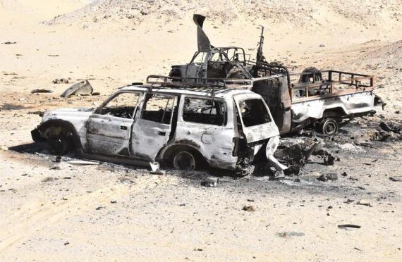 الارهابي الليبي المشارك في هجوم الواحات المصرية الليلة على قناة الحياة المصرية O-EGYPT-570