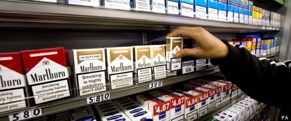 Cigarettes Ban