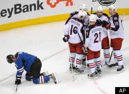 Blue Jackets Beat Avalanche