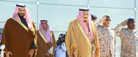 KING SALMAN AND MOHAMMED BIN SALMAN