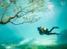 Εσείς ξέρατε πως υπάρχει ένα πάρκο στην Αυστρία που το καλοκαίρι μεταμορφώνεται σε λίμνη;